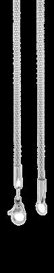 Cadena de Acero, tono acero, L= 45cm, esp= 4mm